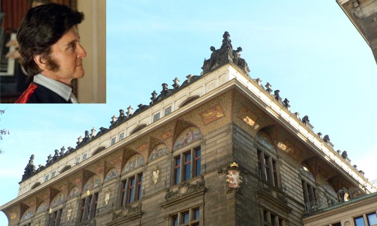 Miliardář Vítek vydělává na natáčení Michaela Douglase v Praze