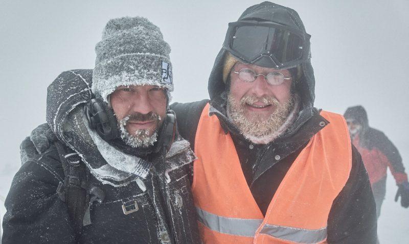 """Padla poslední klapka nového """"lyžařského"""" filmu Poslední závod, Bohumila Hanče hraje Hádek"""