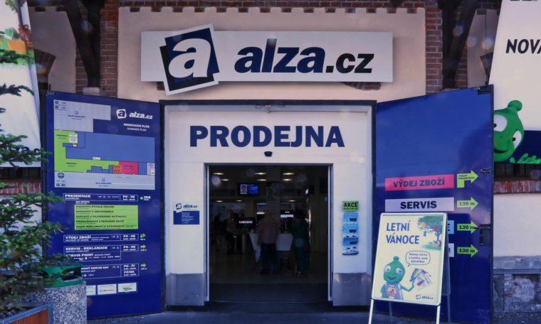 Tržby největšího e-shopu Alza.cz překročily 37 miliard