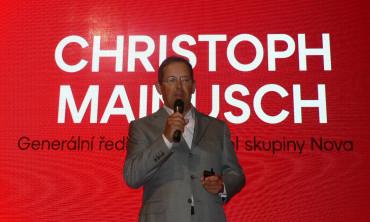 Šéf Novy Christoph Mainusch změní management televize
