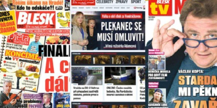 Vydavatel Blesku, E15.cz, Reflexu atd. v provozu vygeneroval opět přes 300 milionů