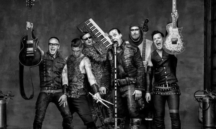 Němečtí Rammstein se příští rok vrátí do Prahy